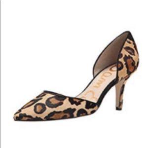 Sam Edelman size 8 leopard pumps